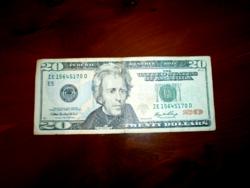 2006 OS USA 20 DOLLÁROS