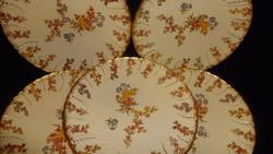 Antik Sarreguemines fajansz  süteményes tányérok Louis dekorral.