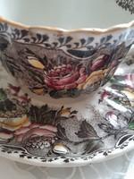 Gyönyörű Sarreguemines teás csésze szett