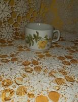 Sárga rózsás Zsolnay bögre