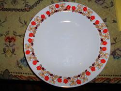 Hollóházi   retro tányér 24 cm