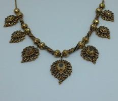 Antik arany ( 23 ct )Nyaklánc Gyemantokal
