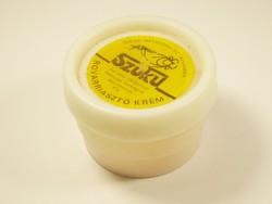 Retro SZUKU rovarriasztó krém műanyag doboz - Metakémia I. SZ. Körösladány - 1970-es évekből