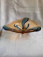 Hatalmas méretű muranoi üveg kínàló/asztalközép