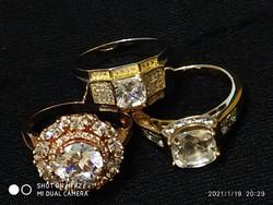 USA GP gyűrűk 925 /62-63/