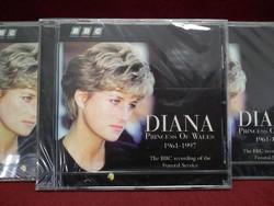 Diana hercegnő emlék műsoros CD