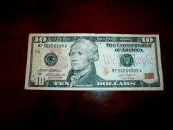2003 AS USA 10 DOLLÁROS