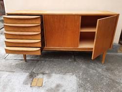 Mid century design sideboard, tálaló by Franz Erlich