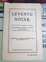 Balatonfüredi Varga Jenő - Leventenóták