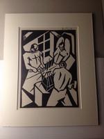 Bortnyik Sándor: Avantgárd kép 1920