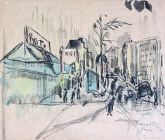Diener Dénes Rudolf: Párizsi részlet