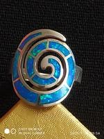 Opál köves ezüst gyűrű /56/