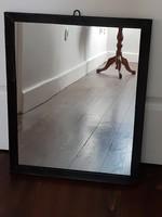 Retro iparművészeti bronz keretes tükör