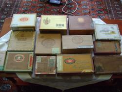 Antik szivardoboz gyűjtemény