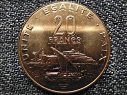 Dzsibuti 20 frank 2016 (id43819)