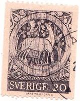 Svédország forgalmi bélyeg 1970