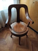 Retró fodrász szék (~1950)