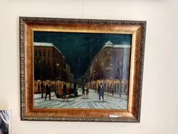 Berkes Antal.olaj- vászon festménye.