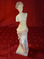 Milói Vénusz - Aphrodité alabástrom szobra, magassága 23 cm.