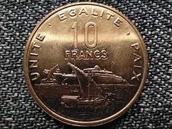 Dzsibuti 10 frank 2016 (id43820)