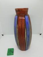 Kerezsi Gyöngyi jelzett retró kerámia váza