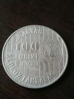 F.A.O 100 Forint 1982 Bu