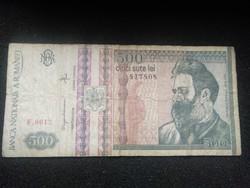 Románia 500 Lei 1992