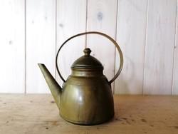 Réz teáskanna
