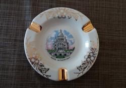 Limoges francia porcelán hamutál hamutartó Paris Le Sacre-Coeur