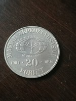 Véd az erdőt 20 Forint 1984