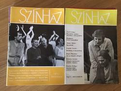 A Színház folyóirat 1970-1988 közti számainak gyűjteménye kb 200 db