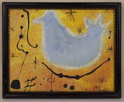 Joan Miró Absztrakt Festmény