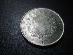 5 Líra  1873  II.  Vittorio Emanuel