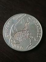 Labdarúgó VB Mexikó 1986 100 Forint 1985 BU / 2