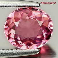 Rare!!! Genuine 100% natural pink tourmaline gemstone 0.97ct (vvs) !! Its value is HUF 77,600!