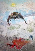 Robert Ottiger svájci festőművész festménye