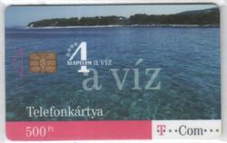 Magyar telefonkártya 0295  2008 Június A víz      9.000 Db-os