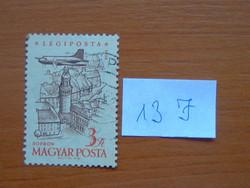 MAGYAR POSTA 3 FORINT 1958. évi légiposta - Repülőgépek 13 J