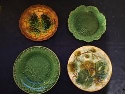 Eladó antik angol majolika tányérok!