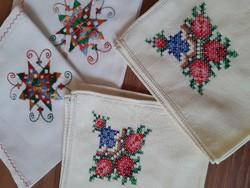 2-2 db gyönyörű textil szalvéta