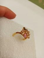 Szép színes köves gyűrű