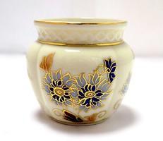Zsolnay búzavirágos kis váza (ZAL-BI40708)