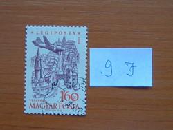 MAGYAR POSTA 1,60 FORINT 1958. évi légiposta - Repülőgépek 9 J