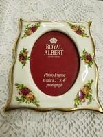 Royal Albert Old Country Roses porcelàn kèpkeret