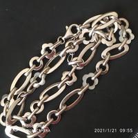 Gyöngyház ezüst nyaklánc 925
