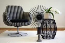 Felújított retro, mid century fotel