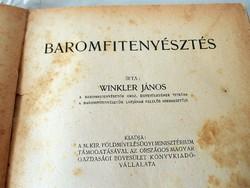 Winkler János  Baromfitenyésztés 1921