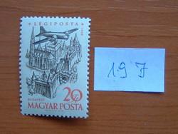 MAGYAR POSTA 20 FORINT 1958. évi légiposta - Repülőgépek 19 J
