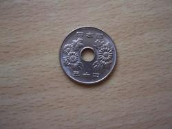 Japán 50 Yen 1990  Ø21 mm