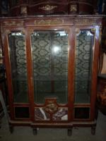 Francia rokokó vitrin